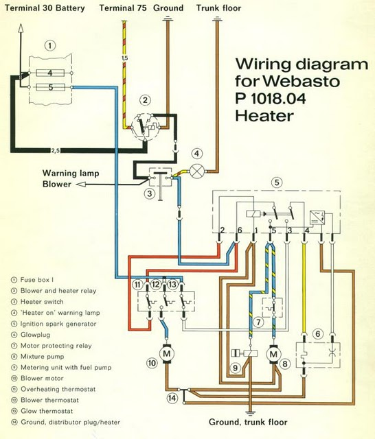 webasto heater wiring diagram the ultimate webasto gas heater thread  photos  parts sources  trades   the ultimate webasto gas heater thread