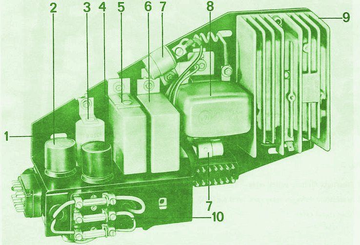 [DIAGRAM_4FR]  1971 911S 2.2 MFI Engine Bay Fuse box question | Zone Fuse Auto Diagram Box Porsche Carrera 1999 |  | Early 911S Registry