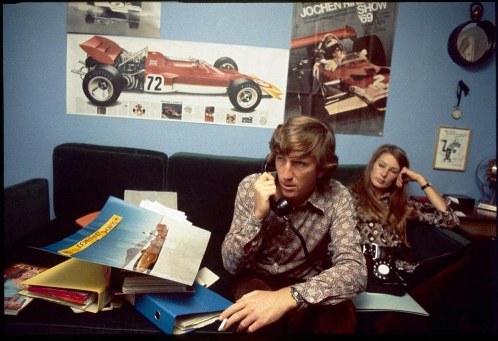 Name:  Jochen Rindt and Heuer 2446 and Nina.jpg